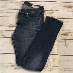 [Rag & Bone] Skinny Capri Jeans